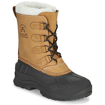 Shoes Women Snow boots KAMIK ALBORG Brown