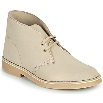 Shoes Men Mid boots Clarks DESERT BOOT 2 Sable