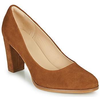 Shoes Women Heels Clarks KAYLIN CARA 2 Camel