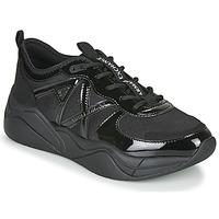 Shoes Women Low top trainers Armani Exchange XV311-XDX039 Black