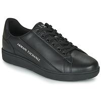 Shoes Men Low top trainers Armani Exchange  Black