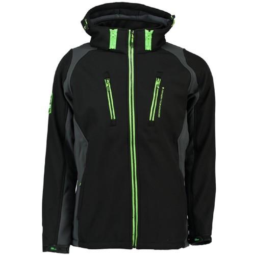 Clothing Boy Jackets Geographical Norway RENNIS BOY Black