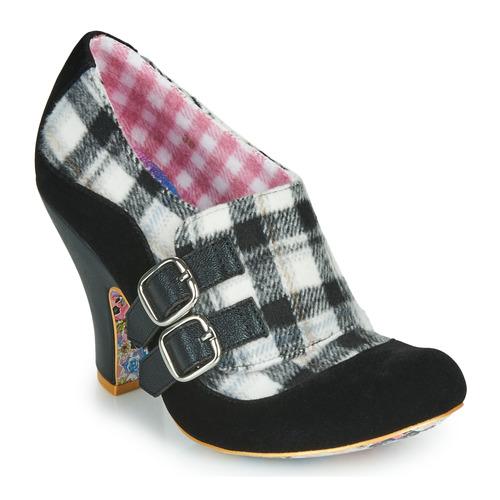 Shoes Women Heels Irregular Choice WANDAS WISH Black / White