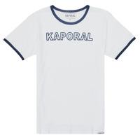 Clothing Boy Short-sleeved t-shirts Kaporal ONYX White