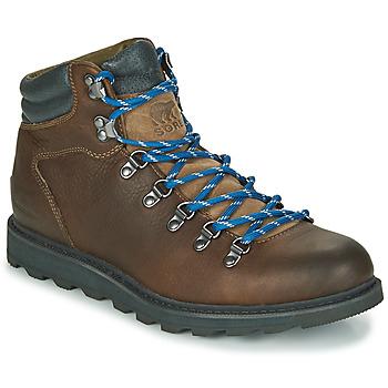 Shoes Men Mid boots Sorel MADSON HIKER II WP Brown
