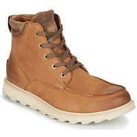 Shoes Men Mid boots Sorel MADSON II MOC TOE WP Brown