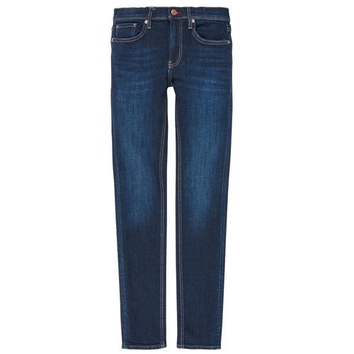 Clothing Boy Straight jeans Teddy Smith FLASH Blue