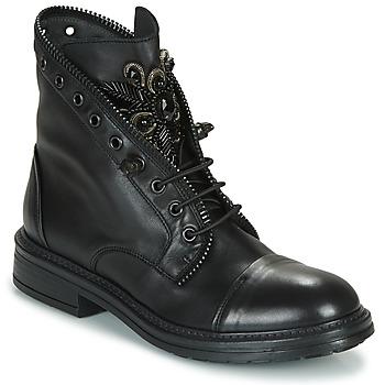 Shoes Women Mid boots Fru.it ADIETE Black