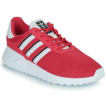 Shoes Girl Low top trainers adidas Originals LA TRAINER LITE C Pink
