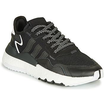 Shoes Children Low top trainers adidas Originals NITE JOGGER J Black