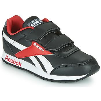Shoes Children Low top trainers Reebok Classic REEBOK ROYAL CLJOG Black / White / Red
