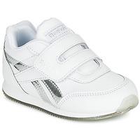 Shoes Girl Low top trainers Reebok Classic REEBOK ROYAL CLJOG White / Silver