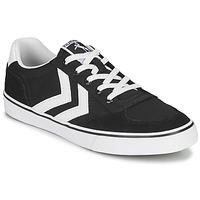 Shoes Low top trainers Hummel STADIL LOW OGC 3.0 Black / White