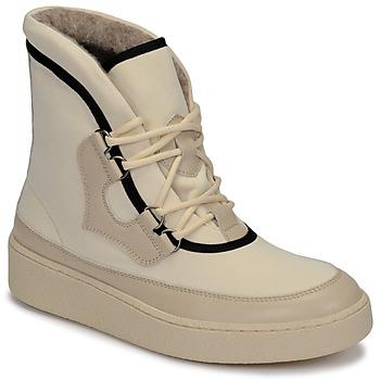 Shoes Women Snow boots Aigle SKILON HIGH White