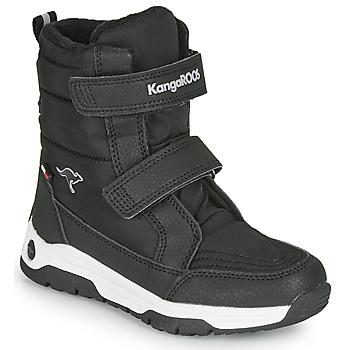 Shoes Children Snow boots Kangaroos K-MAJOR V RTX Black