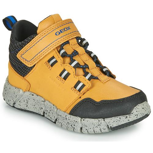 Shoes Boy Mid boots Geox FLEXYPER ABX Honey