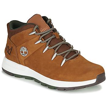Shoes Men Mid boots Timberland SPRINT TREKKER MID Brown