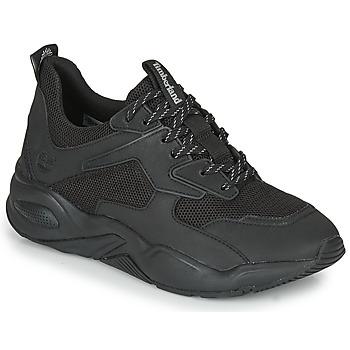 Shoes Women Low top trainers Timberland DELPHIVILLETEXTILESNEAKER Black