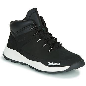 Shoes Children Mid boots Timberland BROOKLYN EURO SPRINT TD Black