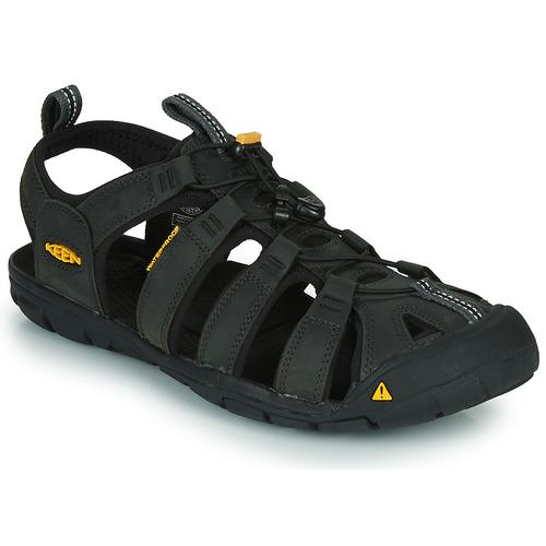 Shoes Men Outdoor sandals Keen CLEARWATER Grey / Black