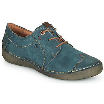 Shoes Women Derby Shoes Josef Seibel FERGEY 20 Marine