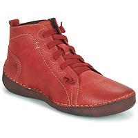 Shoes Women Hi top trainers Josef Seibel FERGEY 86 Red