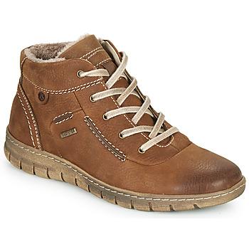 Shoes Women Hi top trainers Josef Seibel STEFFI 53 Brown