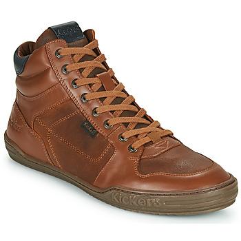 Shoes Men Hi top trainers Kickers JEXPLOREHIGH Brown