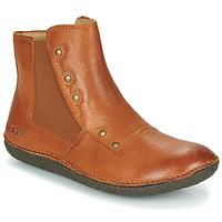 Shoes Women Mid boots Kickers HAPPLI Brown