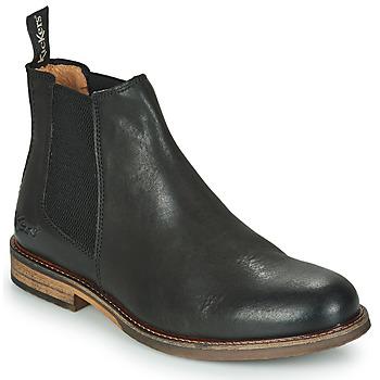 Shoes Men Mid boots Kickers ALPHATRI Black