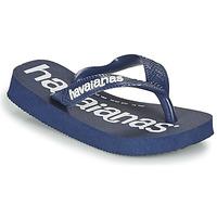 Shoes Boy Flip flops Havaianas TOP LOGOMANIA Marine