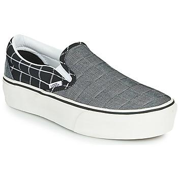 Shoes Women Slip-ons Vans CLASSIC SLIP-ON PLATFORM Grey
