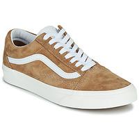 Shoes Low top trainers Vans OLD SKOOL Camel