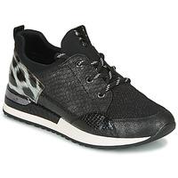 Shoes Women Low top trainers Remonte Dorndorf R2503-45 Black / Leopard