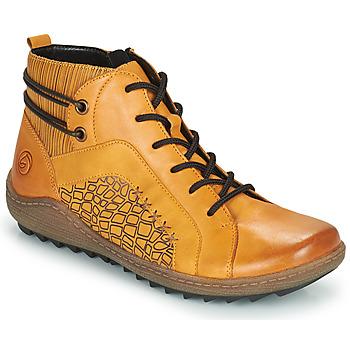 Shoes Women Hi top trainers Remonte Dorndorf SEMILA Yellow