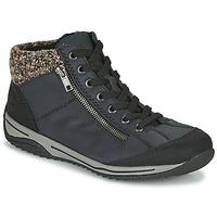 Shoes Women Mid boots Rieker L5223-00 Blue