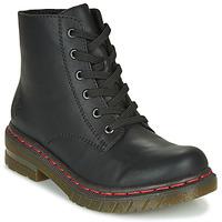 Shoes Women Mid boots Rieker 76240-00 Black