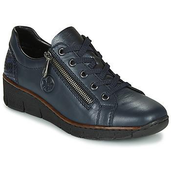 Shoes Women Low top trainers Rieker 53702-14 Blue