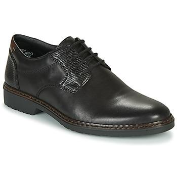 Shoes Men Derby Shoes Rieker 16541-02 Black