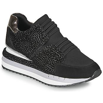 Shoes Women Low top trainers Café Noir JOZIE Black