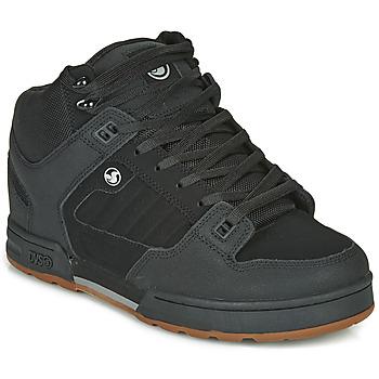 Shoes Men Mid boots DVS MILITIA BOOT Black