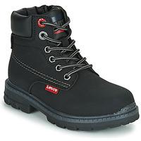 Shoes Children Mid boots Levi's NEW FORREST Black