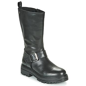 Shoes Women Mid boots Gioseppo VALLENDAR Black