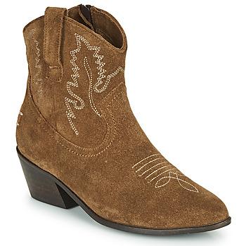 Shoes Women Ankle boots Musse & Cloud DORISA Brown