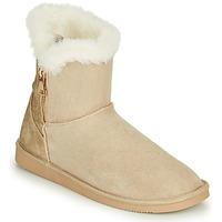 Shoes Women Mid boots Only BREEZE 1 ZIP BOOT Beige
