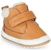 Shoes Children Mid boots Robeez MIKRO SHOW Cognac