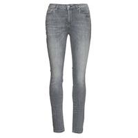 Clothing Women Slim jeans Karl Lagerfeld SKINNY DENIMS W/ CHAIN Grey
