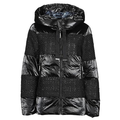 Clothing Women Duffel coats Desigual ALFA Black