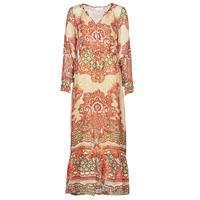 Clothing Women Long Dresses Cream SANNIE DRESS Multicoloured