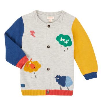 Clothing Boy Jackets / Cardigans Catimini CR18020-20 Multicolour